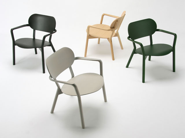 Castor Low Chair