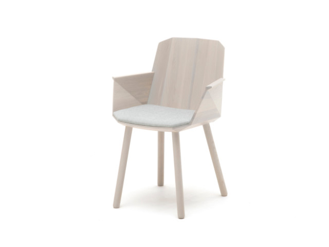 COLOUR WOOD ARMCHAIR