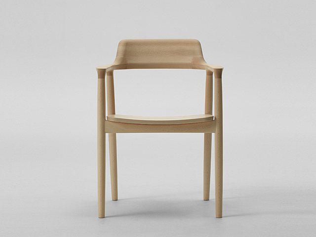 HIROSHIMA ARM CHAIR BEECH