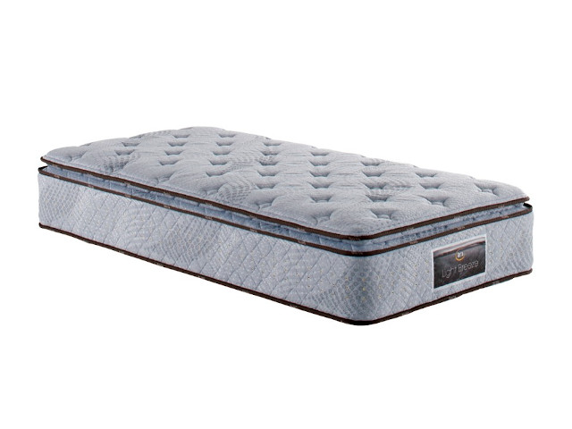 SERTA LIGHT BREEZE 7.7 PILLOW SOFT MATTRESS