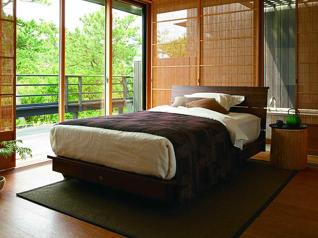 SHIMANTO HINOKI KOH BED