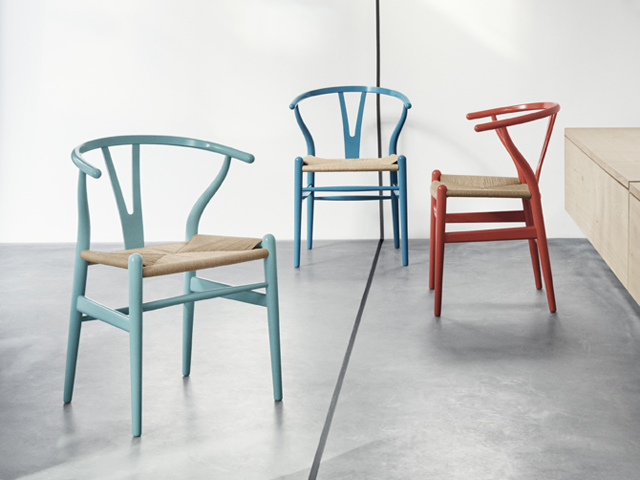 CH24 / Y-CHAIR COLORS by Hans J. Wegner