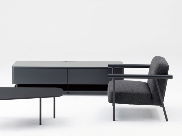 BERA-SF RAIL LOUNGE SOFA